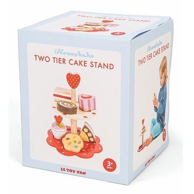 Houten Cake Serveertoren