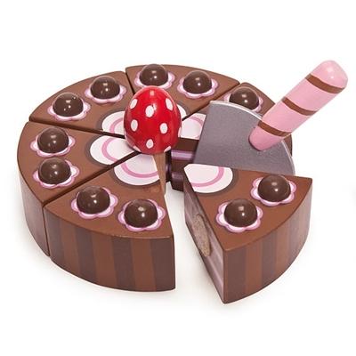 Houten Chocoladecake
