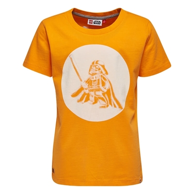 LEGO Wear Star Wars T-shirt Darth Vader Oranje