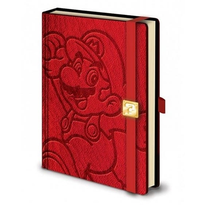 Nintendo Notebook Super Mario