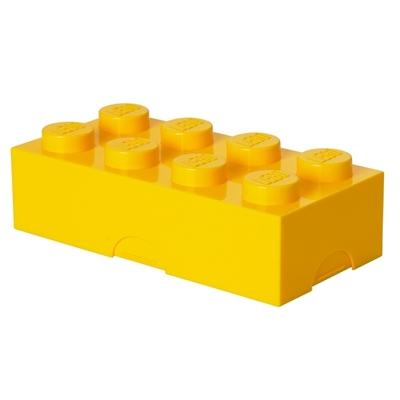 Lunchdoos LEGO Geel