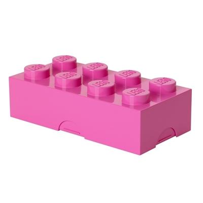 Lunchdoos LEGO roze