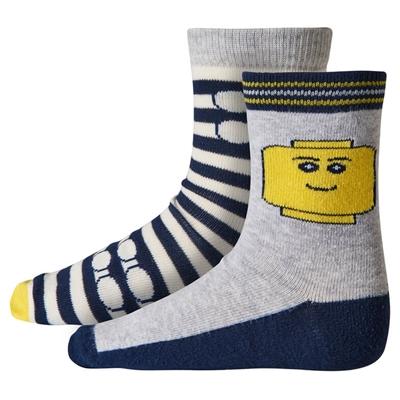 LEGO Wear Classic Sokken Minifigure maat 37/39