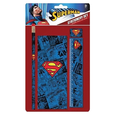 DC Comics Stationery Set Superman