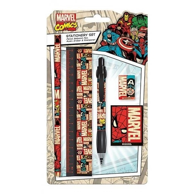 Marvel Comics Retro Stationery Set