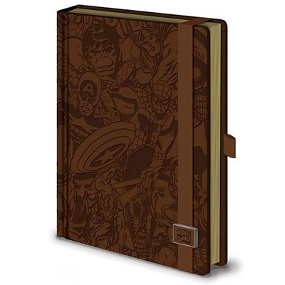 Marvel Comics Notebook