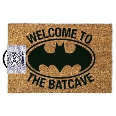 "Deurmat Batman ""Welcome to the Batcave"""