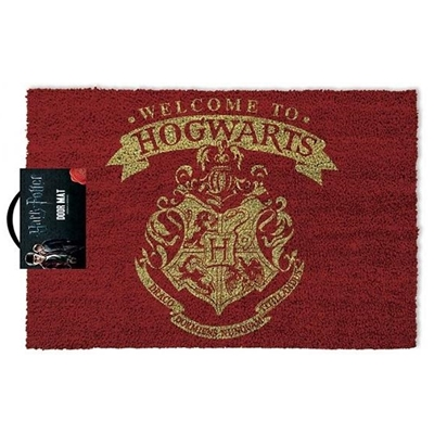 "Deurmat Harry Potter ""Welcome to Hogwarts"""