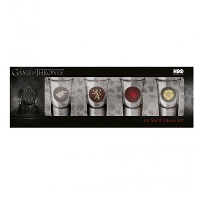 Shotglaasjes Game of Thrones