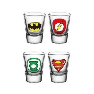 Shotglaasjes DC Comics
