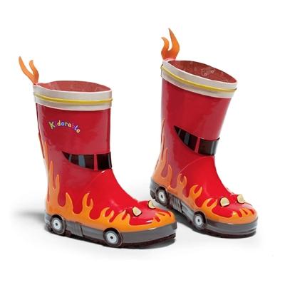 Kidorable Regenlaarsjes Brandweer