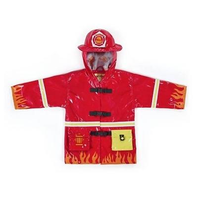 Kidorable Regenjas Brandweer