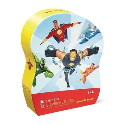 Puzzel Superhelden 72 st.