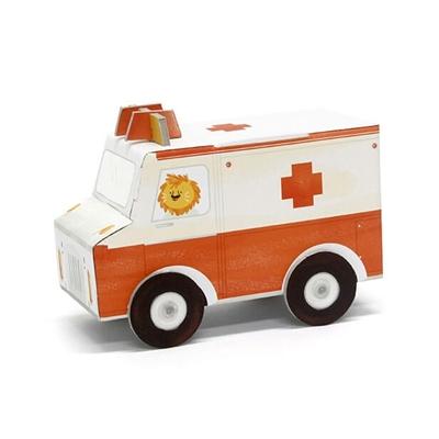 Fold my Car - 3D Ambulance
