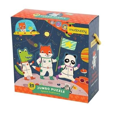 Jumbo Puzzel Space Explorers 25 st.