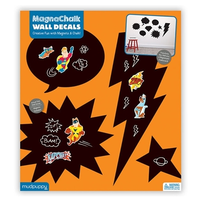 Superhelden Magnachalk Muurstickers