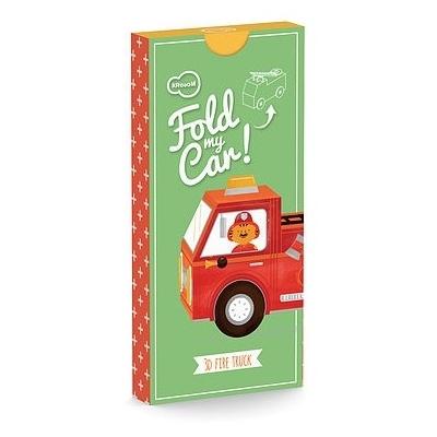 Fold my Car - 3D Brandweerwagen