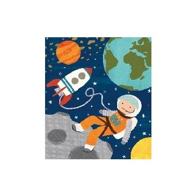 Spaarpot Astronaut met Puzzel 64 st.