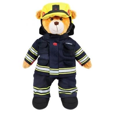 Konrad, de brandweerbeer