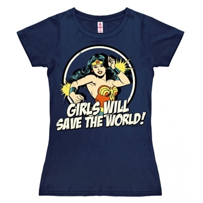 Dames T-shirt Wonder Woman