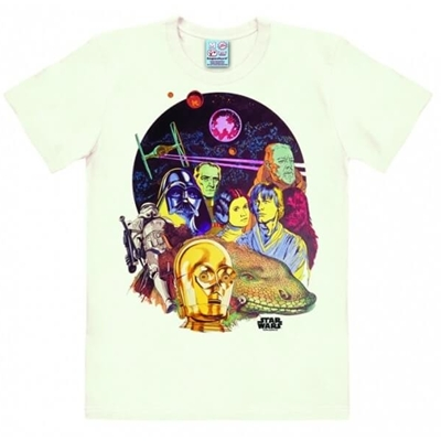 Mannen T-shirt Star Wars Multicolored