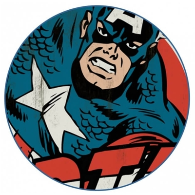Mannen T-shirt Captain America