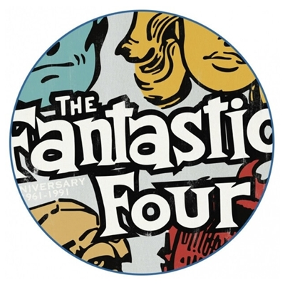 Mannen T-shirt The Fantastic Four