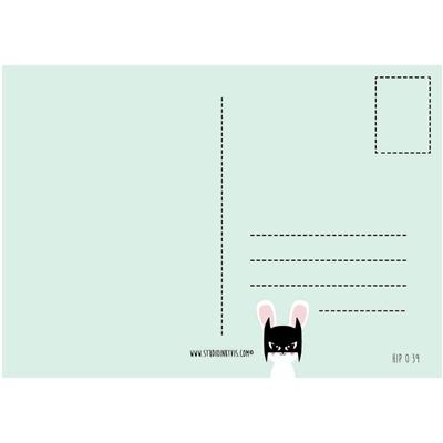 Postkaart Batbunny