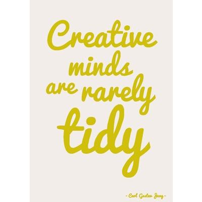 Postkaart Creative Minds