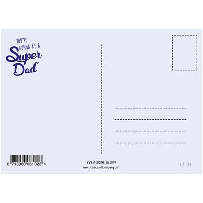 Postkaart Super Dad