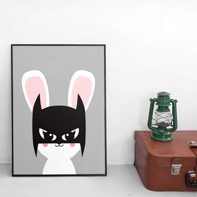 Poster Batbunny