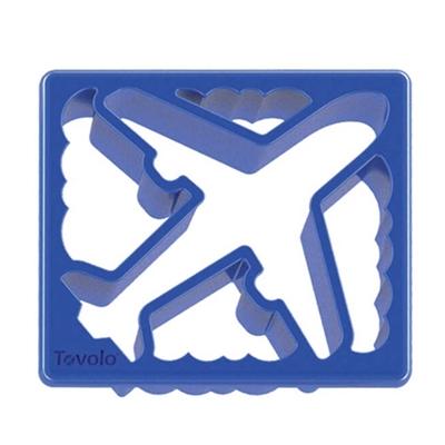 Boterham Uitsteker Vliegtuig/Wolkjes