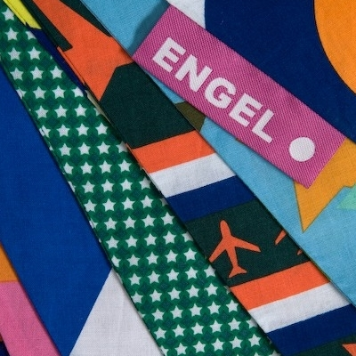 Stoere Vlaggenslinger in Stof