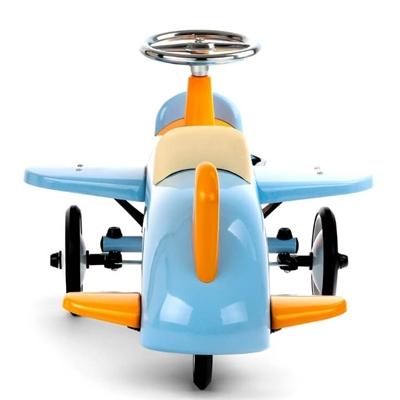 Loopauto Vliegtuig Sky Blue