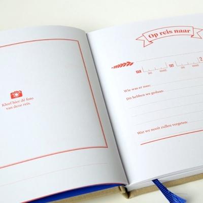Schrijfboek Wij op reis
