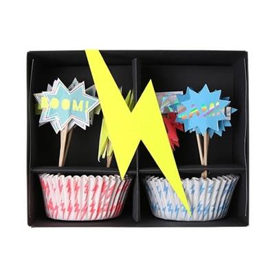Superhelden Cupcakeset