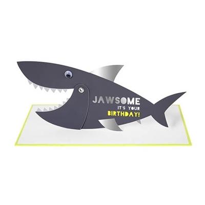 Wenskaart Jawsome Birthday