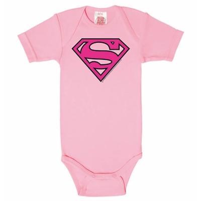 Baby Romper Supergirl Logo