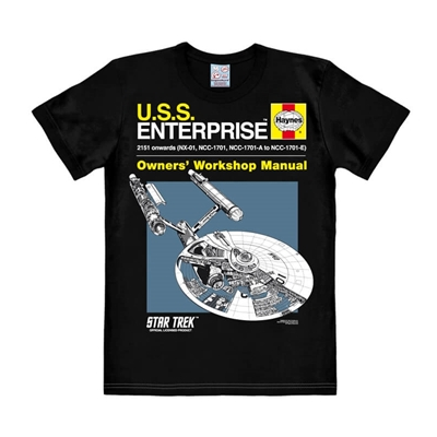 Mannen T-shirt Star Trek U.S.S. Enterprise