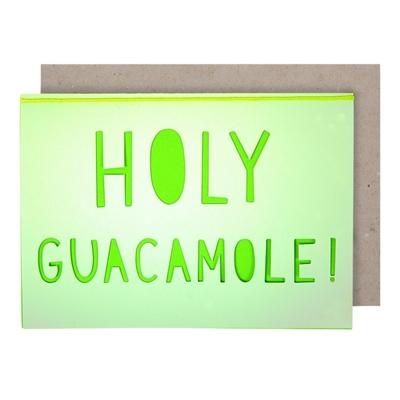 Wenskaart Holy Guacamole!