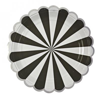 Black & White Feestbordjes (8 stuks)