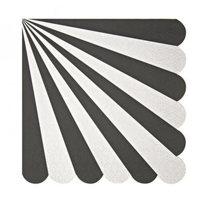 Black & White Feestservietten (20 stuks)