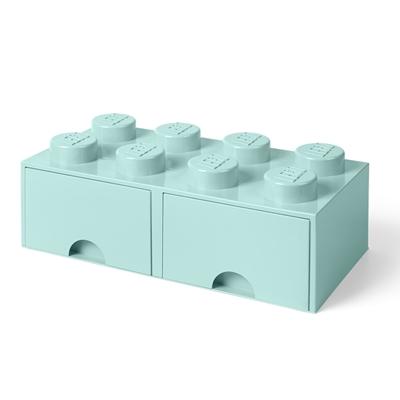 Opbergdoos LEGO Mint 8 met lades