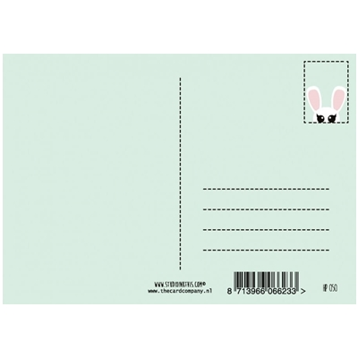 Postkaart Honey Bunny