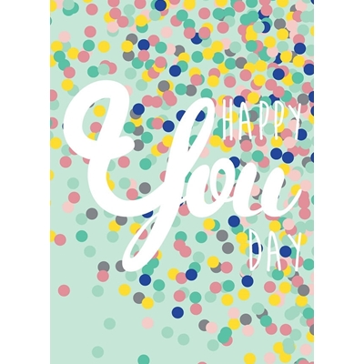 Postkaart Happy You Day