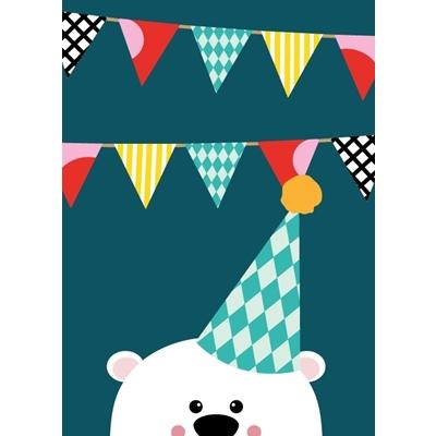 Postkaart Partybeer