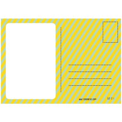 Postkaart Partykonijn