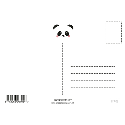 "Postkaart Panda ""Hello Little One"""