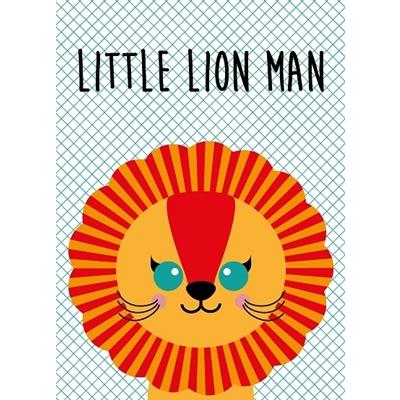 Postkaart Little Lion Man
