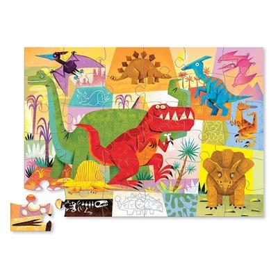 Vloerpuzzel Dinosaurussen 36 st.